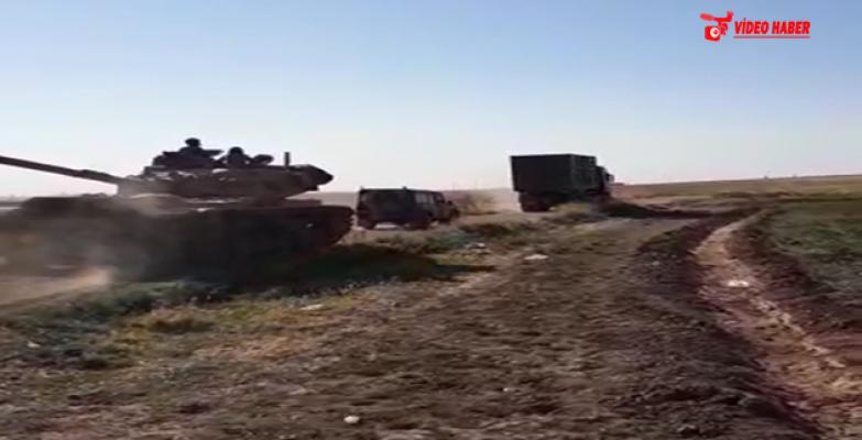 Suriye Sınırda Askeri Hareketlilik