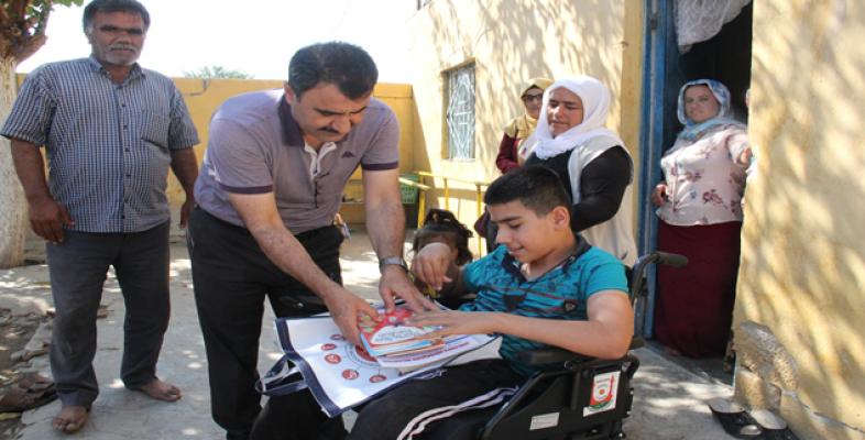 Abdulkadir, Okuluna Artık Akülü Sandalyesi İle Gidecek