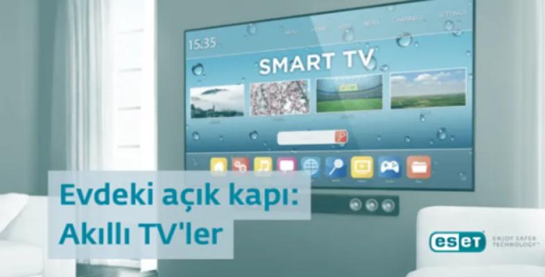 Akıllı televizyonlar siber saldırganlar için kolay hedefler