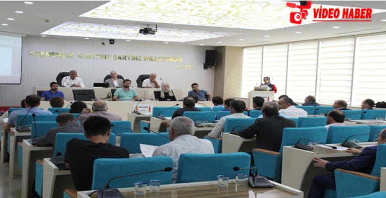 Büyükşehir Meclisi Ağustos Ayı Toplantısını Tamamladı