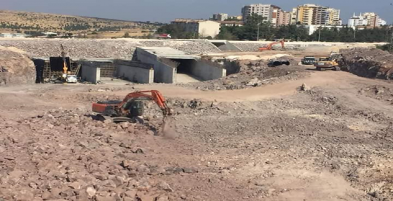 Çevik Kuvvet Köprülü Kavşağı'nda Çalışmalar Hızlandı