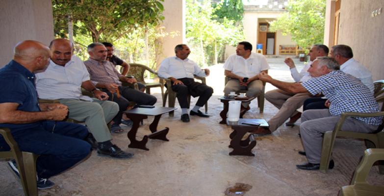 Dicle Elektrik Şanlıurfa'daki muhtar ziyaretlerini sürdürüyor