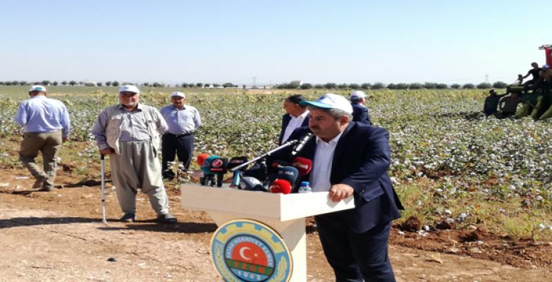 Bayraktar''Pamuk Türk Tarımı İçin Vazgeçilmez Bir Ürün''