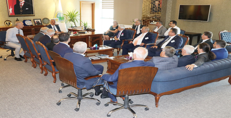 ŞUTSO Yönetimi, Edirne Ticaret Ve Sanayi Odası'nı Ağırladı