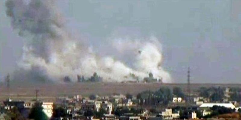 Fırat'ın doğusuna beklenen harekat, jetlerle yapılan 4 saldırı ile başladı