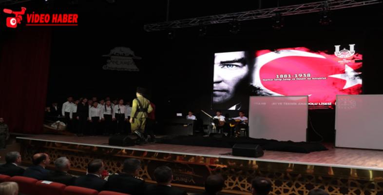 Büyük Önder Atatürk, Şanlıurfa'da Anıldı
