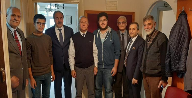 Halil Özcan Şanlıurfa Vakfını ziyaret etti