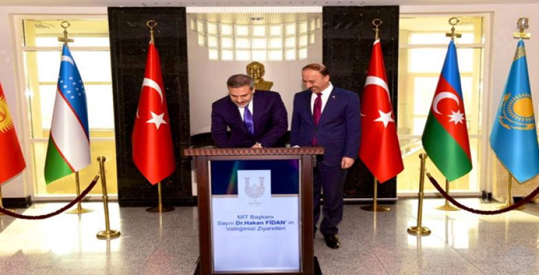 MİT Başkanı Fidan, Şanlıurfa'ya geldi!
