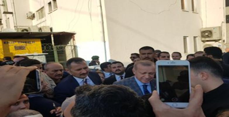 Urfa'da Cumhurbaşkanı Sevgisi