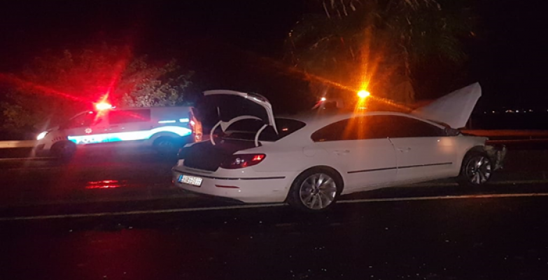 Urfa-Mardin Yolunda Kaza,  1 Yaralı