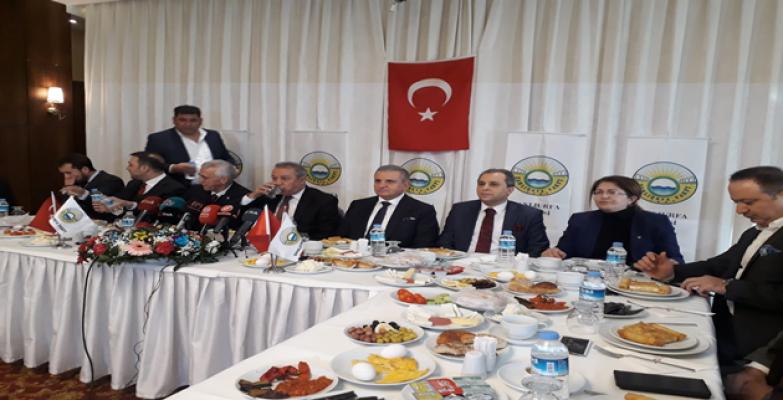 '' Amacımız Urfa'ya Katkı Sağlamak''