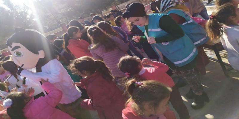 Eyyübiye Belediyesi 'İyilik Merkezi' Çocukların Yüzünü Güldürmeye Devam Ediyor.