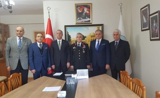 Jandarma Genel Komutanından Şanlıurfa Vakfı'na Ziyaret