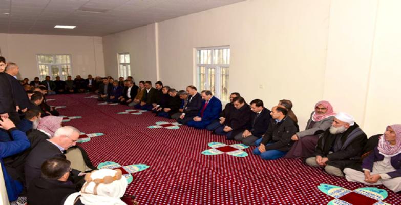 Özhasaki'den  Şehidin Ailesine Taziye Ziyareti