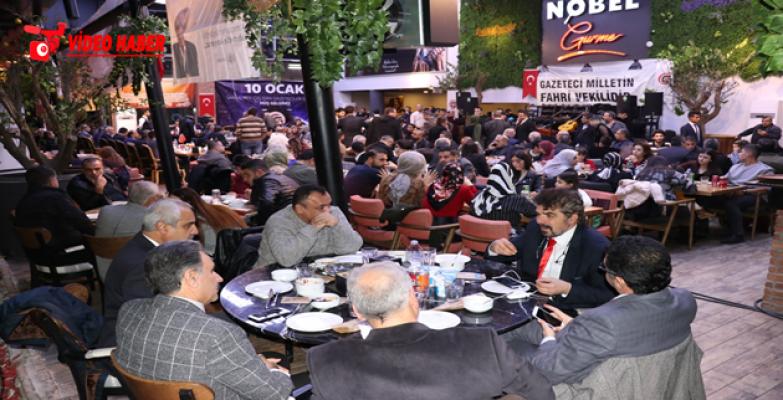 ŞUÇGAD, Gazeteciler Gecesi Düzenledi