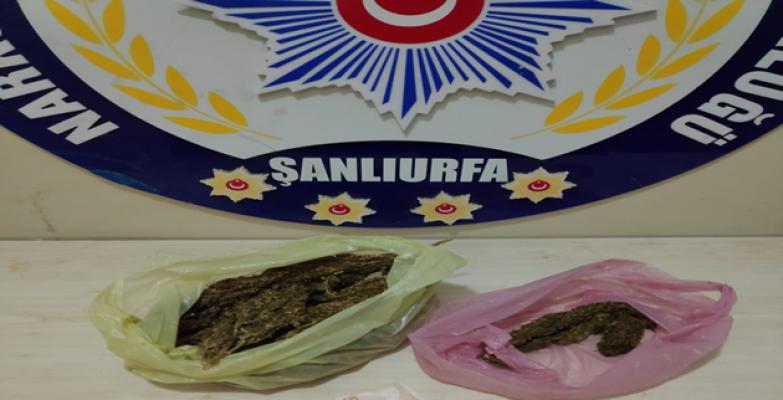 Urfa'da Uyuşturucu Operasyonu