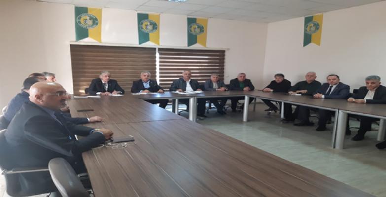 Urfaspor'da görev dağılımı yapıldı!