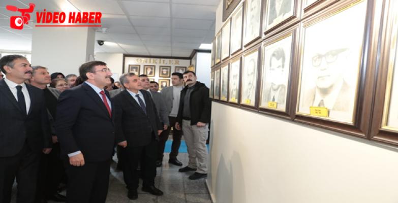 AK Parti Genel Başkan Yardımcısı Yılmaz'dan Büyükşehir Belediyesine Ziyaret