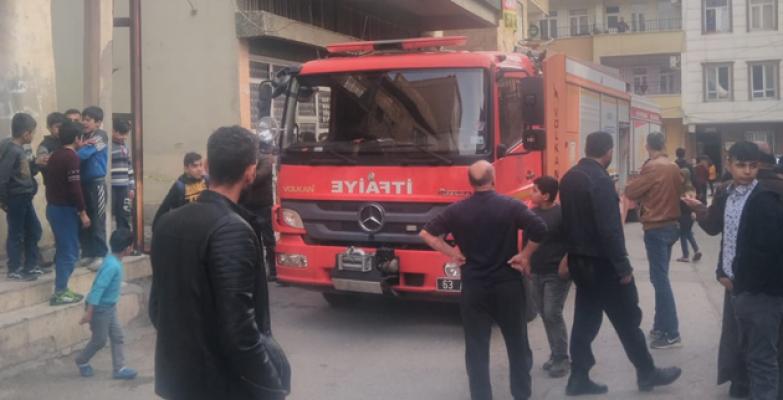 Haliliye'de yangın: 2 yaralı!