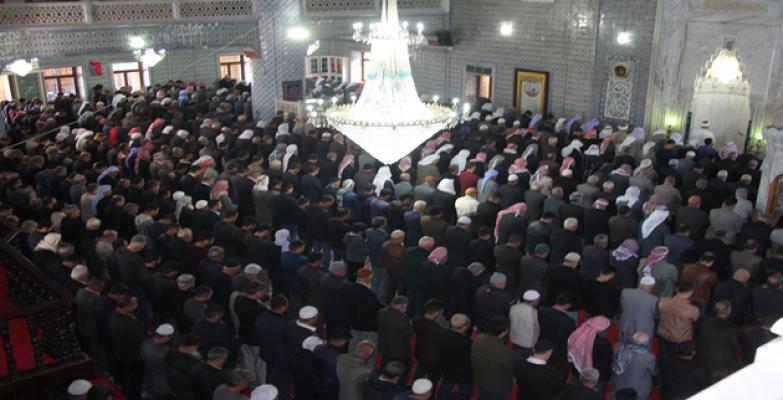 Şanlıurfa'da 33 şehit için gıyabi cenaze namazı