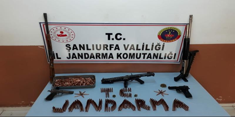Urfa'da Silah Operasyonu, 3 Gözaltı