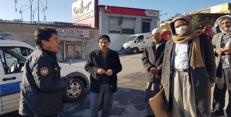 Urfa'da yaşlılar uyarıldı