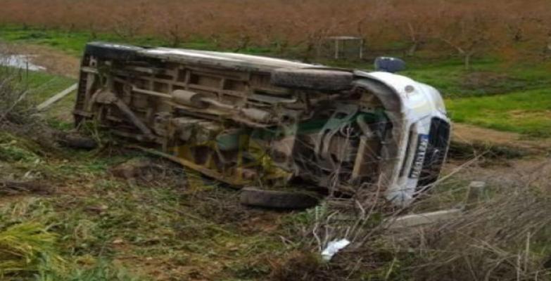 Ceylanpınar'da  kaza yaptı! 10 yaralı