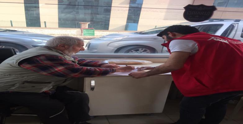Vefa Sosyal Destek Grubu Bir Günde 654 Kişiye Hizmet Ulaştırdı
