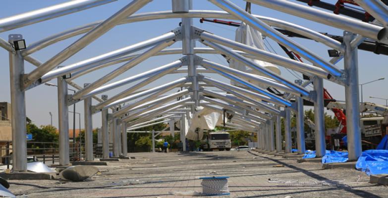 Eyyübiye Belediyesinden İlçeye Yeni Ve Modern Kapalı Semt Pazarı.