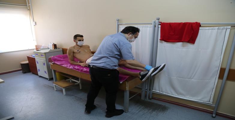 Haliliye Belediyespor Sağlık Kontrolünden Geçti