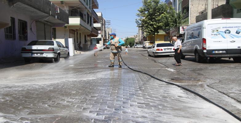 Haliliye'de Cadde Ve Sokaklar Pırıl Pırıl