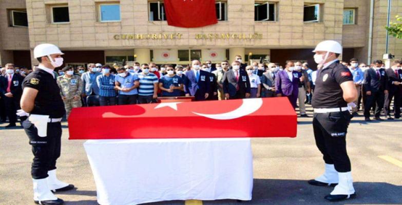Hayatını kaybeden savcı için cenaze töreni düzenlendi
