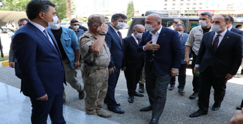 İçişleri Bakanı Süleyman Soylu Urfa'da