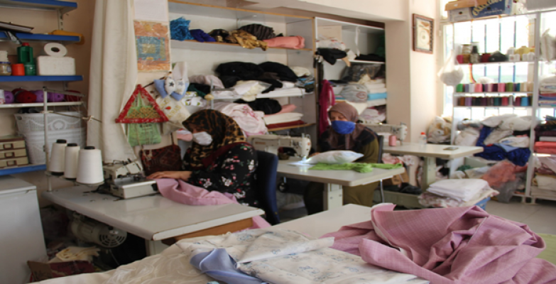 Şanlıurfalı kadınlar mikro kredi desteği ile kendi işlerinin patronu oluyor