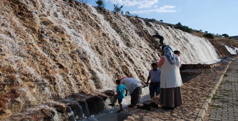 Urfa'da Serinleme Molası