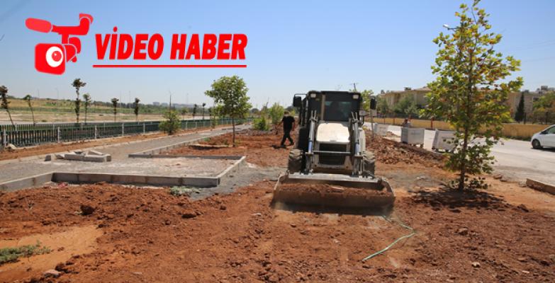 Ahmet Yesevi'deki Yeni Parklarda Çalışmalar Sürüyor