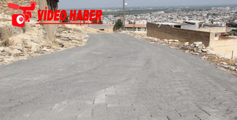 Eyyübiye Belediyesi, Yol Yapımını Aralıksız Sürdürüyor.