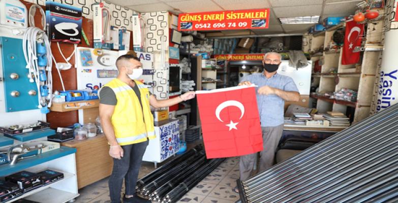 Haliliye'den Vatandaşlara 'Zafer Bayramı' Hediyesi
