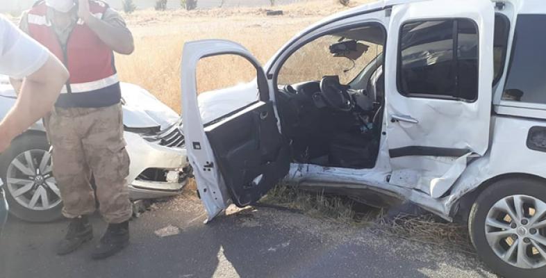 Şanlıurfa'da trafik kazası