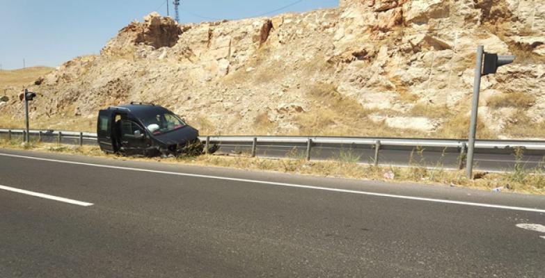 Suruç yolunda kaza
