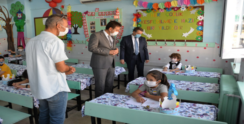 2020-2021 Eğitim Öğretim Yılı Yüz Yüze Eğitim İlk Ders Zili Çaldı