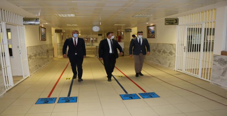 Başsavcı açıkladı: Urfa cezaevine COVİD-19 giremedi