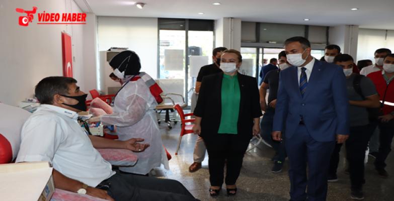Büyükşehir'in İmmün Plazma Kampanyasıyla Covid-19'lular Şifa Bulacak
