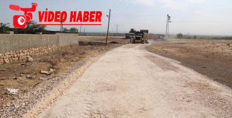 Eyyübiye Belediyesi Yol Yapımına Ara Vermeden Devam Ediyor