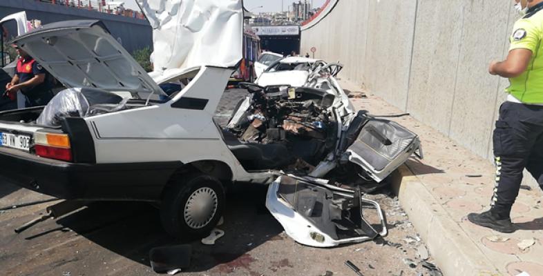 Urfa'da feci kaza: 2 kişi hayatını kaybetti!