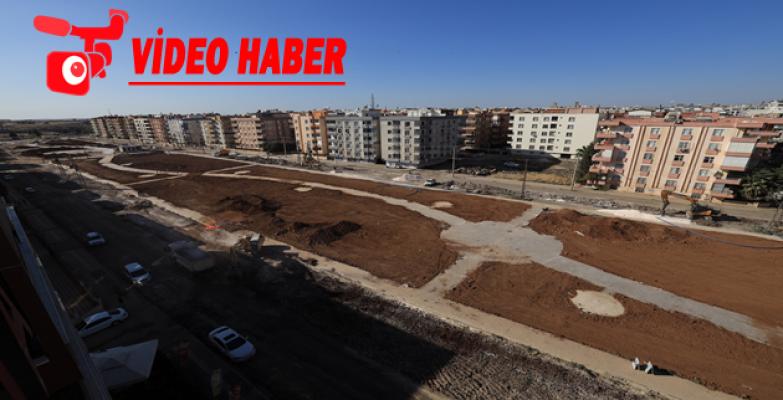 Büyükşehir'in Viranşehir'deki Yatırımları Hız Kazandı