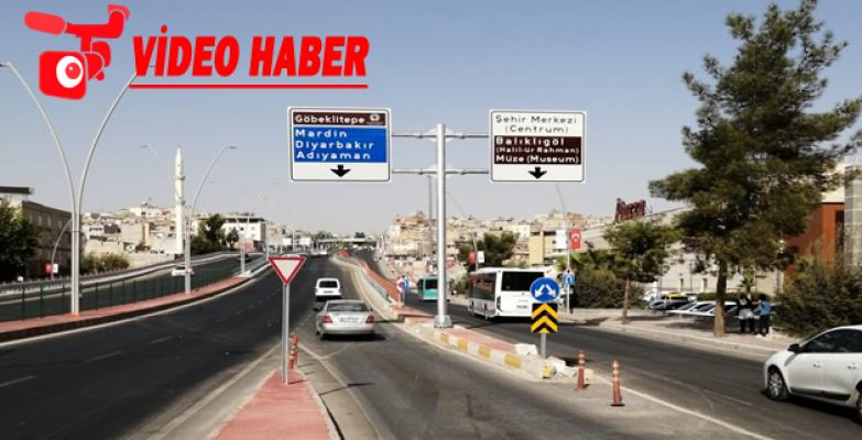Büyükşehir, Şanlıurfa Yollarını 'Başüstü T Levhaları'yla Donatıyor