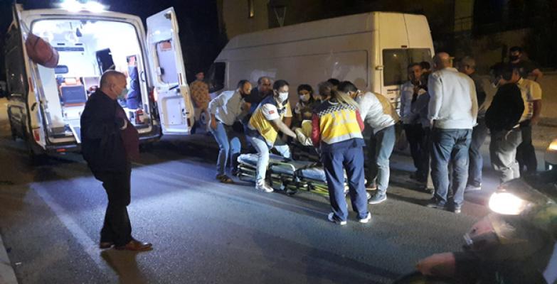 Eyyübiye'de Trafik Kazası, 1 Yaralı