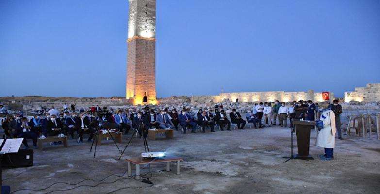 Harran Üniversitesi Akademik Açılış Törenini Medeniyetin Beşiğinde Yaptı