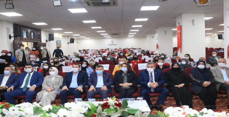 Karaköprü'de Seher Kılıç, başkan seçildi